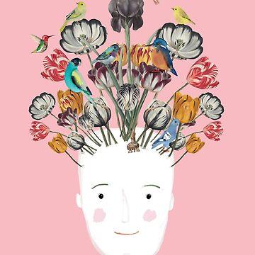Flowerhead by JessesMess