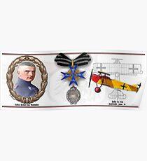 Oberleutnant Lothar Freiherr von Richthofen Poster