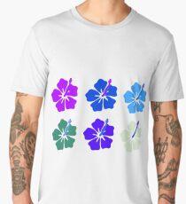 Bright Hawaiian Flowers Men's Premium T-Shirt