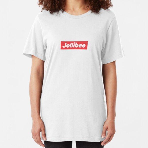 Jollibee Box Logo Slim Fit T-Shirt