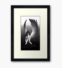 Sultry Angel Framed Print