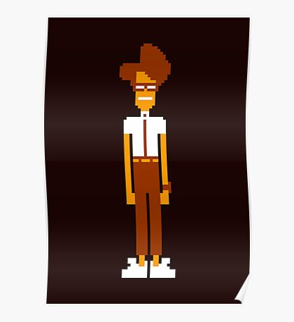 Moss Sprite - The IT Crowd Poster