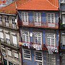 Porto Portugal Tenement Buildings by Deirdreb