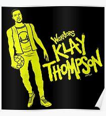 Thompson - Warriors Poster