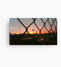 Beauty from the Other Side Canvas Print
