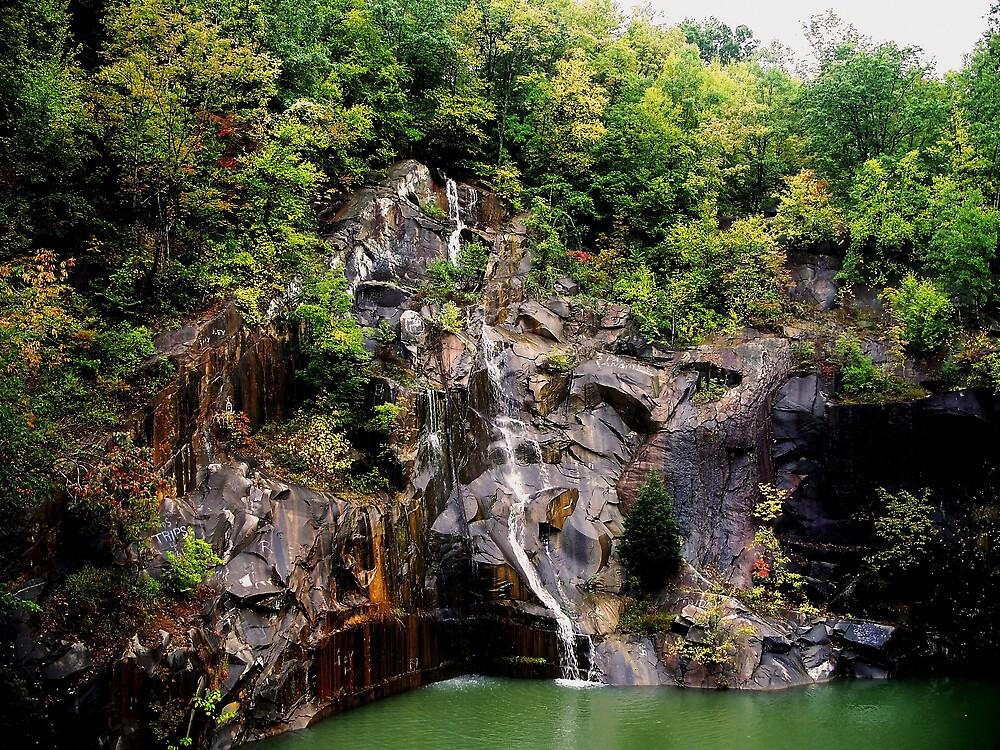 Mountain Falls by Judi Taylor