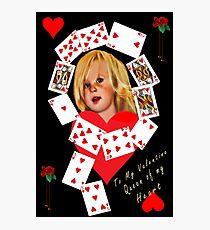 ✿♥‿♥✿   Queen of Hearts Valentine ✿♥‿♥✿    Photographic Print