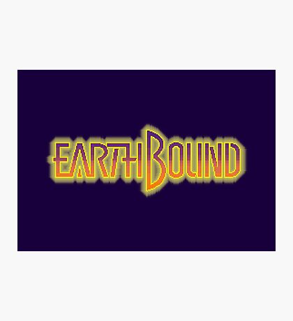 Earthbound Title Screen (Pixelated) Photographic Print