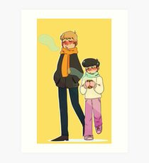 Mobu Art Print