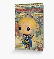 Funko POP! Valkyrie Is Here Greeting Card