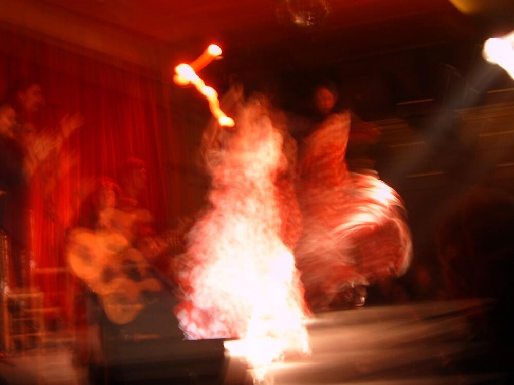 Barcelona.....Flamenco Dancer.... by seanoooa