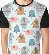 Big Buddy Elephant Graphic T-Shirt