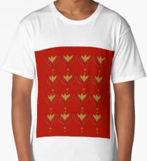 Elements  red gold  Long T-Shirt