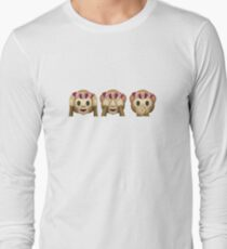 Monkey Emojis In Flower Crowns T-Shirt