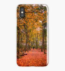 October forest iPhone Case/Skin