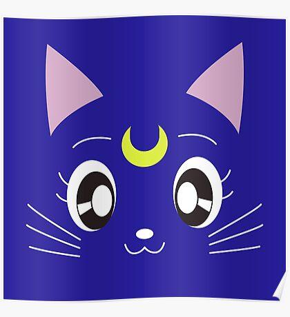 Luna - Sailor Moon Poster