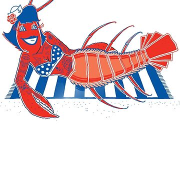Rockabilly Lobster by JohnDC