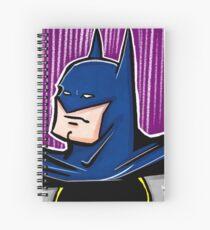 Dark Night Spiral Notebook