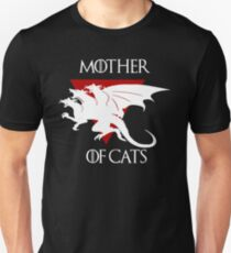 Cats are awesome - Mother of Cats T-Shirt