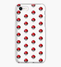 Pokemon Pixel Pokeball - Pokemon Go iPhone Case/Skin