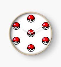 Pokemon Pixel Pokeball - Pokemon Go Clock