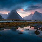 Milford Sunset by Michael Breitung