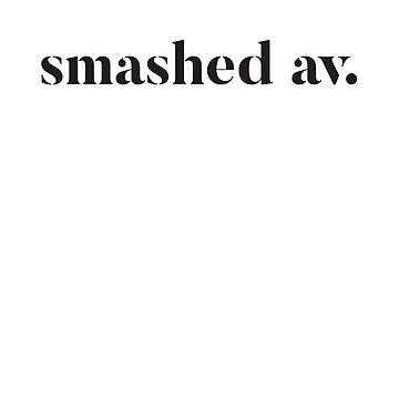 Smashed Av. by nicgfx