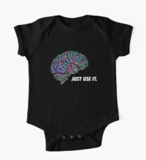 Brain - Just Use It One Piece - Short Sleeve