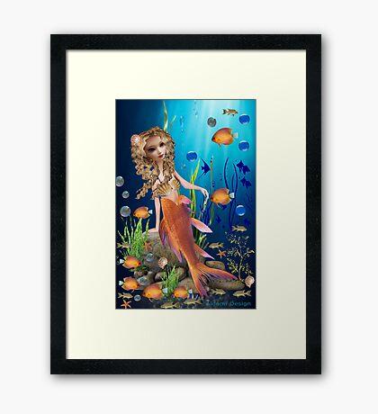 Mermaid (1396 views) Framed Print