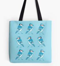 Blue Jays Pattern Tote Bag