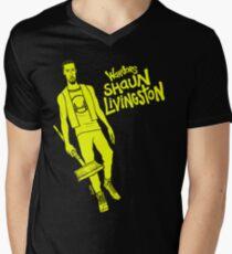 Livingston - Warriors Men's V-Neck T-Shirt