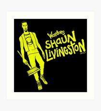 Livingston - Warriors Art Print