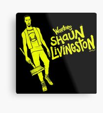 Livingston - Warriors Metal Print