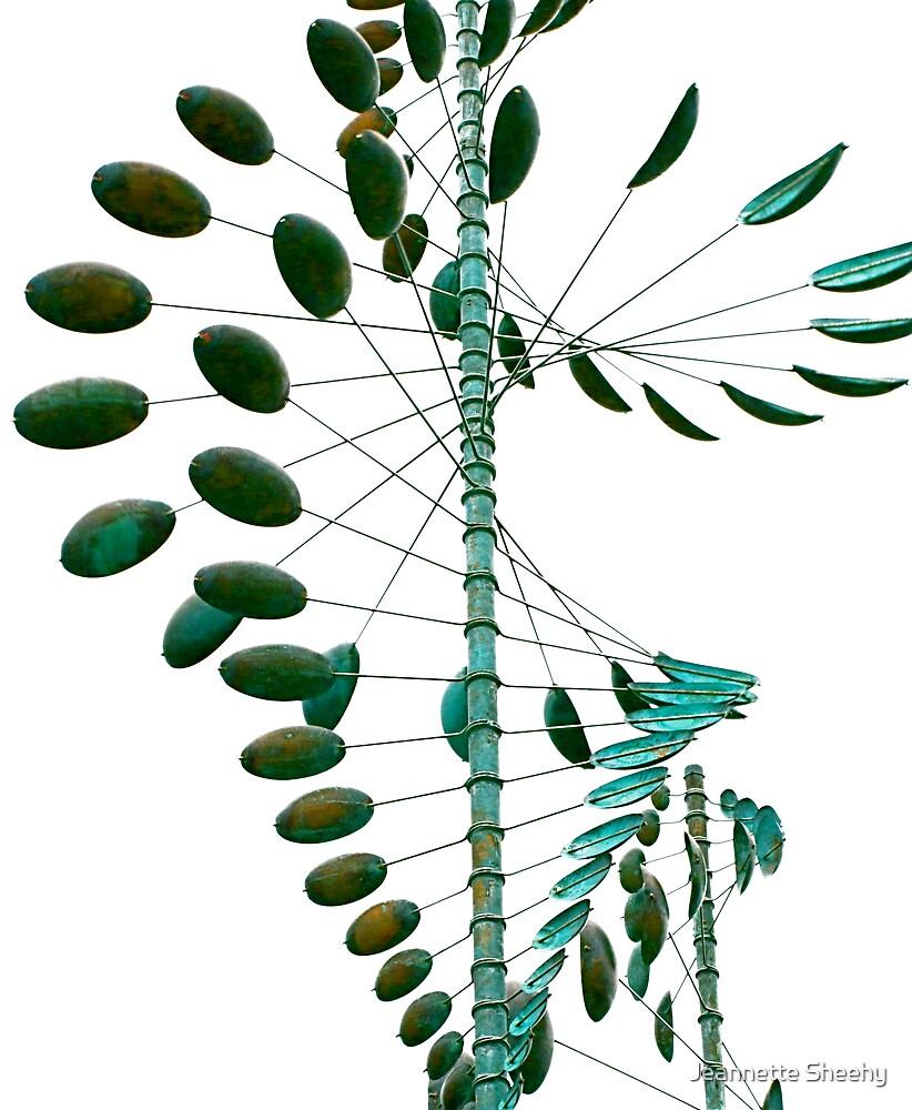Wind Sculpture II by Jeannette Sheehy