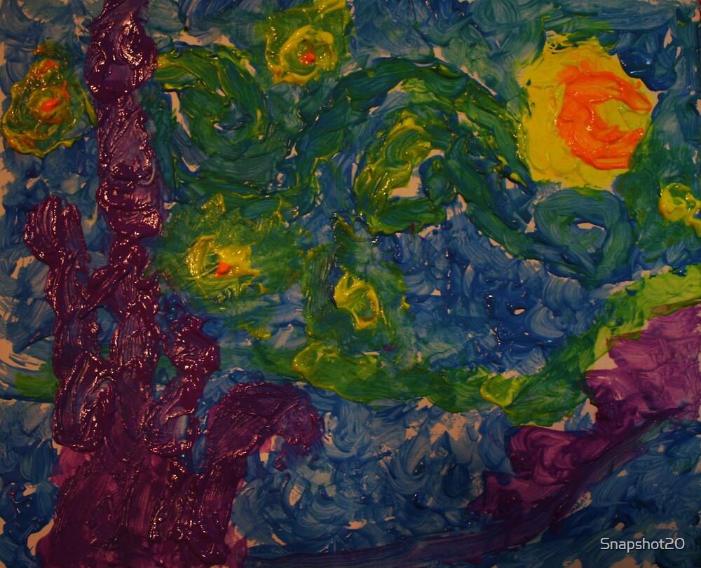 Emberellens Van Gogh Moon by Snapshot20
