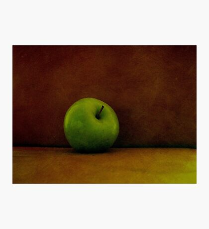 A Green Apple Photographic Print