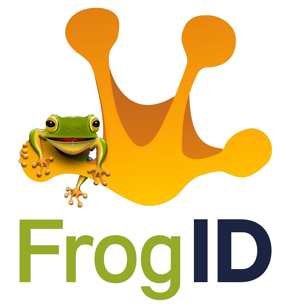 Frog ID on white\