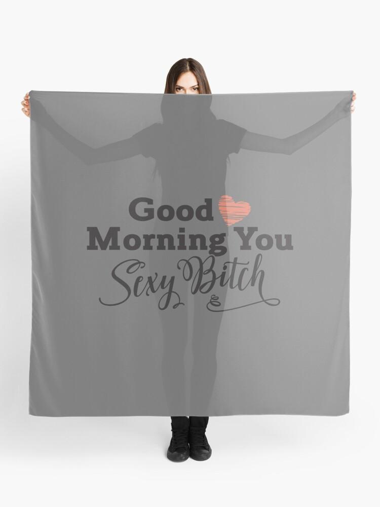 sexy guten morgen