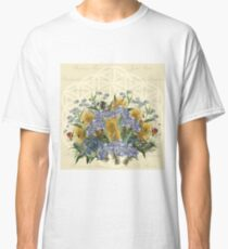 Flowers of Life with Friend Classic T-Shirt