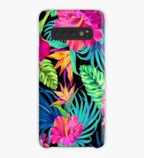 Drive You Mad Hibiscus Pattern Case/Skin for Samsung Galaxy