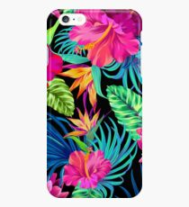 Drive You Mad Hibiscus Pattern iPhone 6s Plus Case