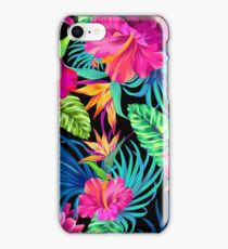 Drive You Mad Hibiscus Pattern iPhone Case/Skin
