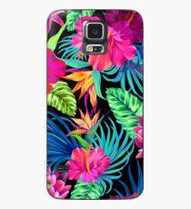 Fahren Sie Mad Hibiscus Pattern Hülle & Skin für Samsung Galaxy