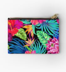 Drive You Mad Hibiscus Pattern Studio Pouch