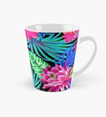 Drive You Mad Hibiscus Pattern Tall Mug