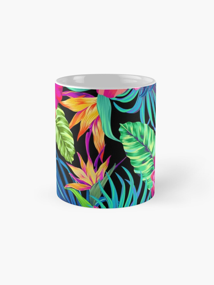 Alternate view of Drive You Mad Hibiscus Pattern Mug