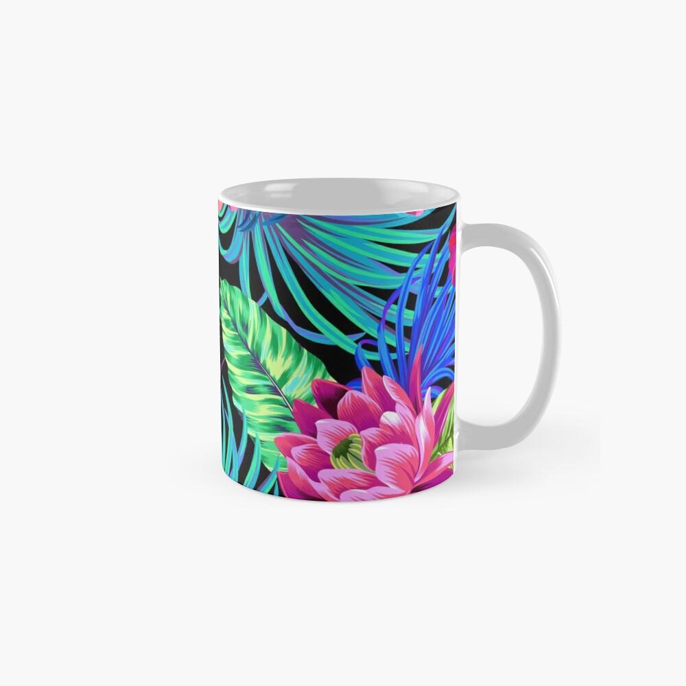 Drive You Mad Hibiscus Pattern Mug