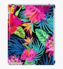 Fahren Sie Mad Hibiscus Pattern iPad-Hülle & Klebefolie