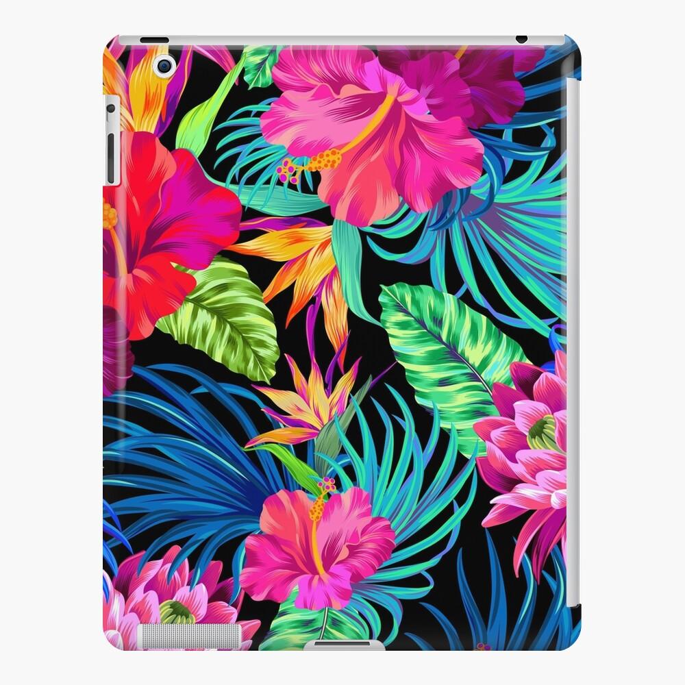 Drive You Mad Hibiscus Pattern iPad Case & Skin