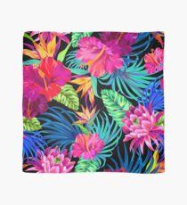 Pañuelo Drive You Mad Hibiscus Pattern